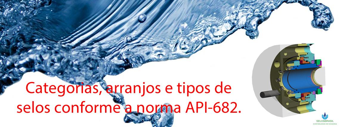 CATEGORIAS, ARRANJOS E TIPOS CONFORME API-682 style=