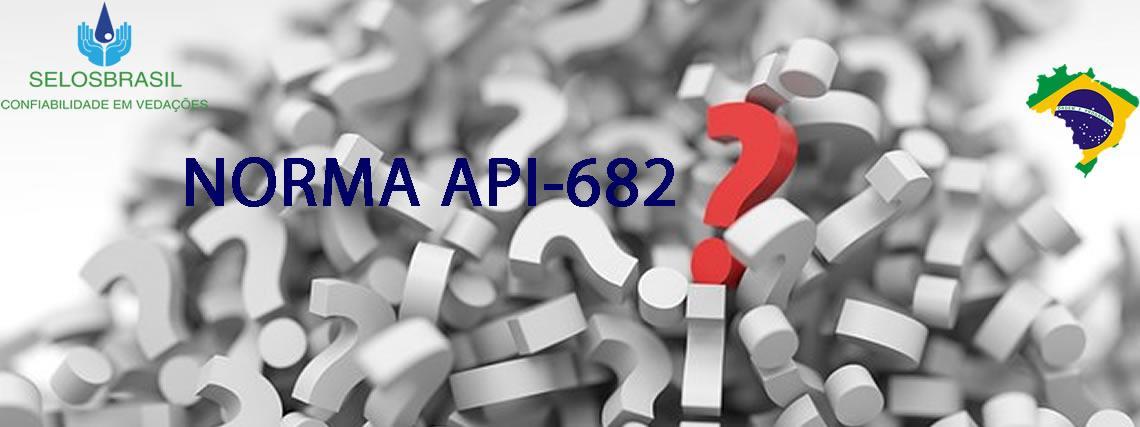 NORMA API-682 APLICADA À SELOS MECÂNICOS
